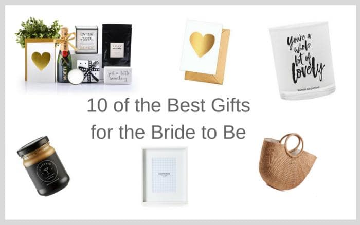 10 Unique Bridal Shower Gift Ideas