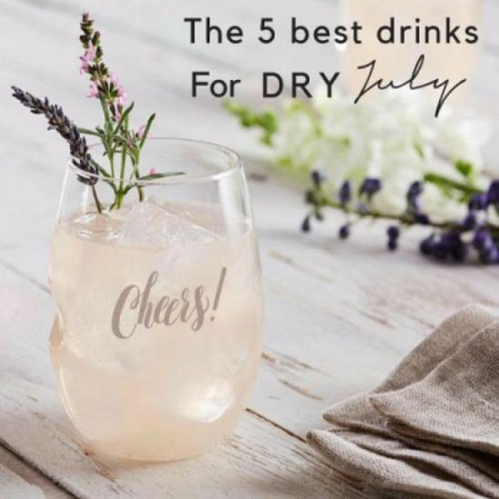 Five Swoonworthy Non-Alcoholic Drinks