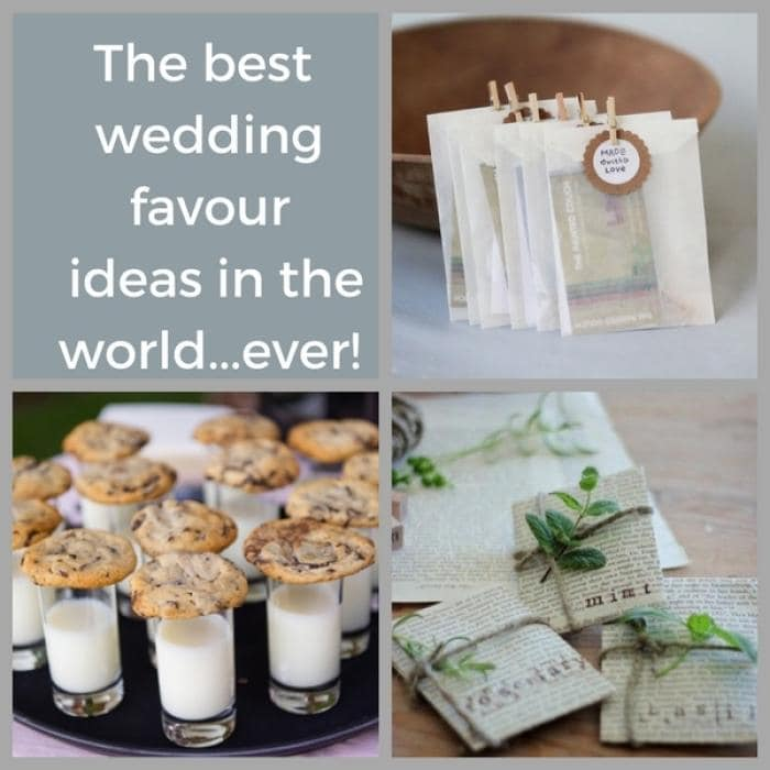 7 Wonderful Wedding Favour ideas
